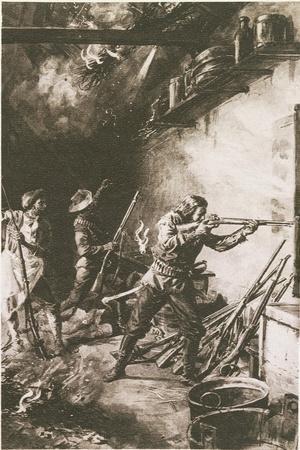 Giuseppe Garibaldi--Framed Giclee Print