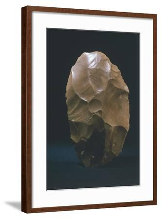 Tools Made of Flint, France, Paleolithic Age--Framed Giclee Print