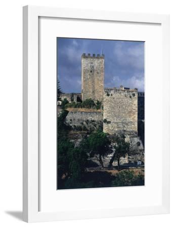 Italy, Sicily Region, Castello Di Lombardia, Enna--Framed Giclee Print