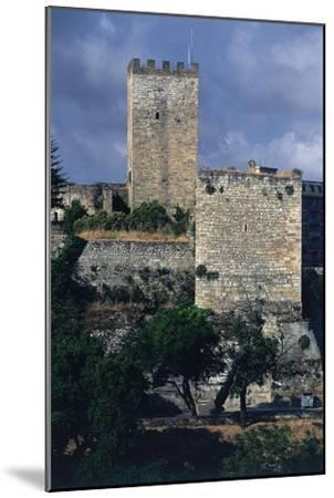 Italy, Sicily Region, Castello Di Lombardia, Enna--Mounted Giclee Print