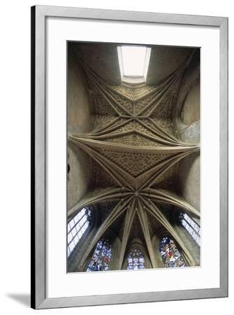 Vaults of Chapel of Chateau De Chambery, Rhone-Alpes, France--Framed Giclee Print