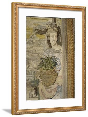 The Spring Season, 16th Century Tapestry Woven--Framed Giclee Print