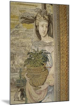 The Spring Season, 16th Century Tapestry Woven--Mounted Giclee Print