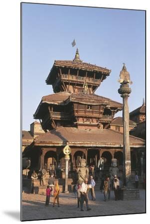 Nepal, Kathmandu Valley, Bhaktapur, Temple of Dattatreya--Mounted Giclee Print