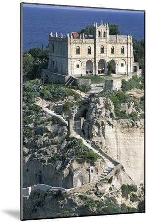 Sanctuary of Santa Maria of Island, Tropea, Calabria, Italy--Mounted Giclee Print