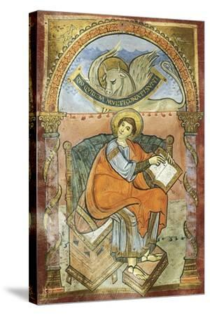Saint Wenceslas, Miniature from the Vysehrad Gospels--Stretched Canvas Print