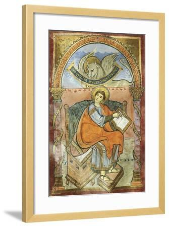 Saint Wenceslas, Miniature from the Vysehrad Gospels--Framed Giclee Print