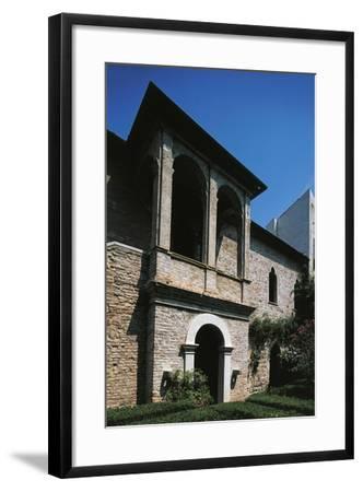 16th Century Loggia, House of Francesco Petrarca, Arqua Petrarca, Veneto, Italy--Framed Giclee Print