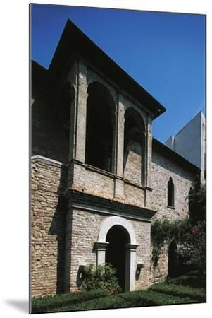 16th Century Loggia, House of Francesco Petrarca, Arqua Petrarca, Veneto, Italy--Mounted Giclee Print