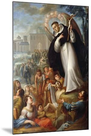 St Vincent Ferrer Speaks of Christ to Pagans. Mexico--Mounted Giclee Print