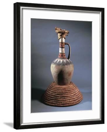 Vase, Part of Funerary Equipment of Tomb of Kha, from Deir El-Medina, Egypt--Framed Giclee Print