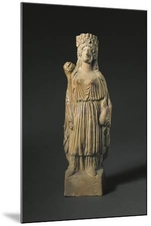Spain, Statuette Representing the Goddess Tanit, Terracotta--Mounted Giclee Print