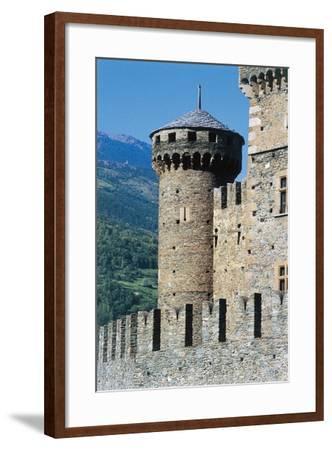 Fenis Castle, Aosta, Valle D'Aosta, Italy--Framed Giclee Print
