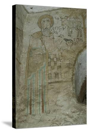 Ethiopia, Lalibela, Rock-Hewn Churches, Gannata Maryam Church--Stretched Canvas Print
