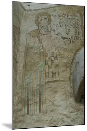 Ethiopia, Lalibela, Rock-Hewn Churches, Gannata Maryam Church--Mounted Giclee Print