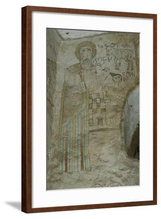 Ethiopia, Lalibela, Rock-Hewn Churches, Gannata Maryam Church--Framed Giclee Print