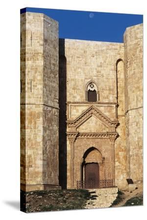 Castel Del Monte's Entrance, 1229-1249--Stretched Canvas Print