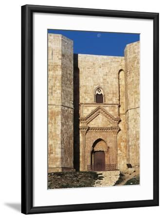 Castel Del Monte's Entrance, 1229-1249--Framed Giclee Print