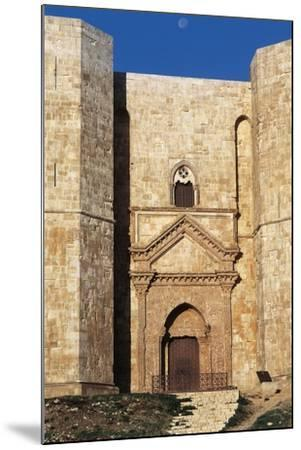 Castel Del Monte's Entrance, 1229-1249--Mounted Giclee Print