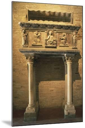 Tomb of Giovanni Visconti Da Oleggio, 1366, Cathedral of the Assumption, Fermo, Marche, Italy--Mounted Giclee Print