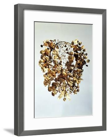 Italy, Basilicata, Armento, Golden Crown--Framed Giclee Print