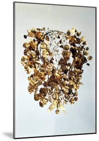 Italy, Basilicata, Armento, Golden Crown--Mounted Giclee Print