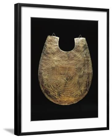 Etruscan Gold Leaf Pectoral, from Cerveteri, Rome Province, Italy, 7th Century B.C.--Framed Giclee Print