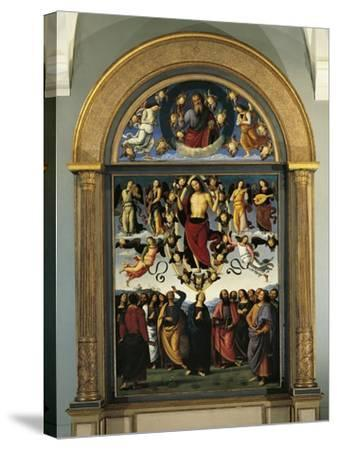 France, Lyon, the Eternal Father in Glory and the Ascension of Christ--Stretched Canvas Print