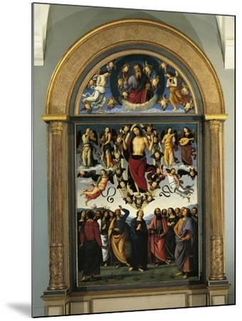 France, Lyon, the Eternal Father in Glory and the Ascension of Christ--Mounted Giclee Print