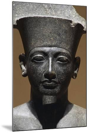 Horemheb, Diorite Statue from Luxor Temple, Egypt, Detail--Mounted Giclee Print