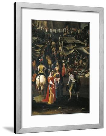 Italy, Florence, Fair of Impruneta, 1618--Framed Giclee Print