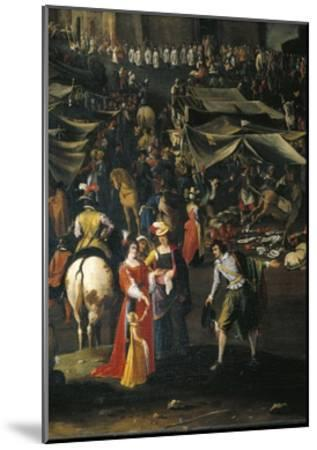 Italy, Florence, Fair of Impruneta, 1618--Mounted Giclee Print