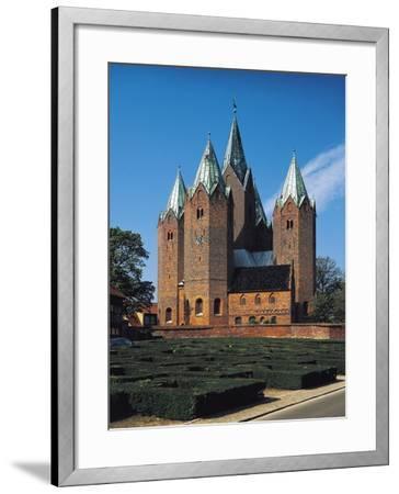 Vor Frue Kirke Church, Kalundborg, Denmark--Framed Giclee Print