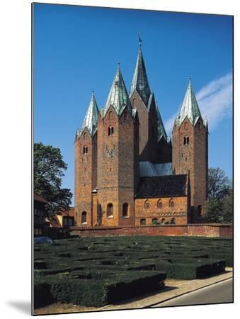 Vor Frue Kirke Church, Kalundborg, Denmark--Mounted Giclee Print