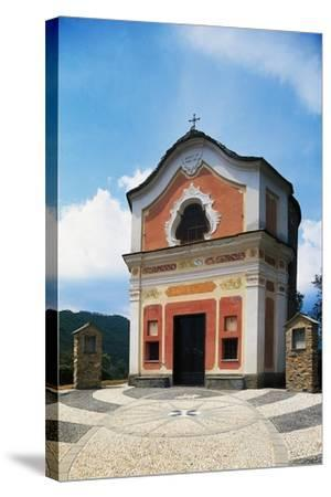 Church of St John Baptist, Ortovero, Liguria, Italy--Stretched Canvas Print
