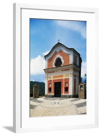Church of St John Baptist, Ortovero, Liguria, Italy--Framed Giclee Print