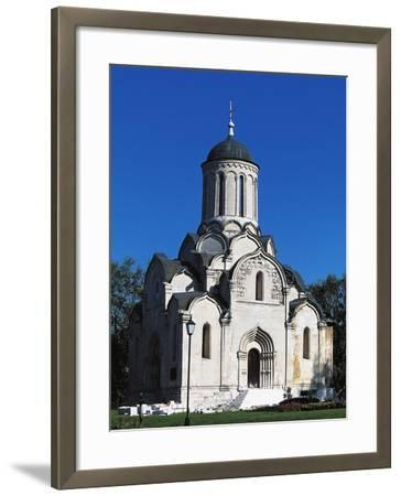 Cathedral of Christ Saviour, Andronikov Monastery of Saviour, Moscow, Central District, Russia--Framed Giclee Print