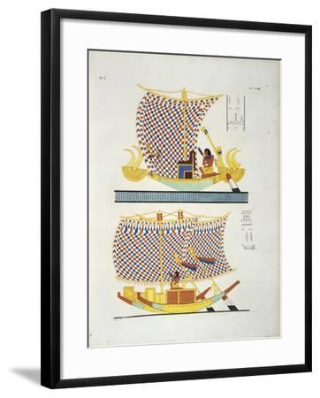 Color Illustration from Book 'Monuments of Egypt and Nubia'--Framed Giclee Print