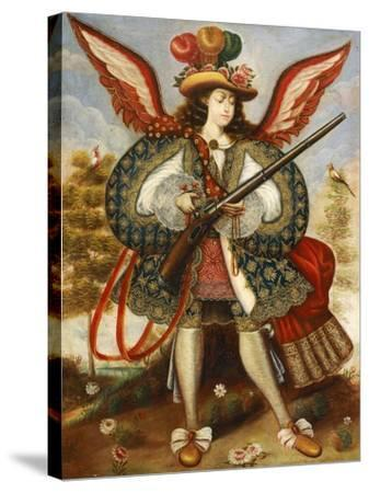 Warrior Angel--Stretched Canvas Print