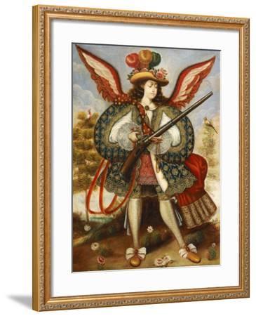 Warrior Angel--Framed Giclee Print