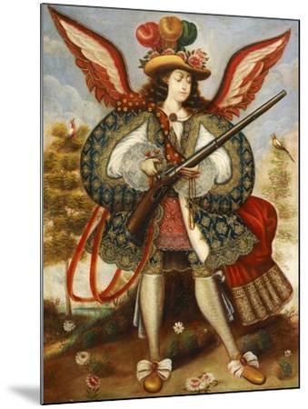 Warrior Angel--Mounted Giclee Print