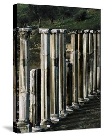 Ascleplieion, Pergamon, Turkey AD--Stretched Canvas Print