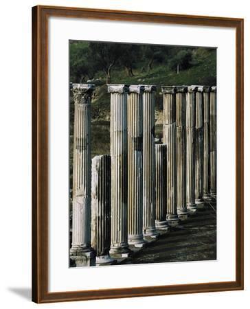 Ascleplieion, Pergamon, Turkey AD--Framed Giclee Print