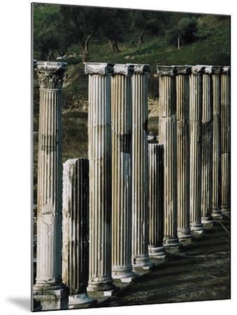 Ascleplieion, Pergamon, Turkey AD--Mounted Giclee Print