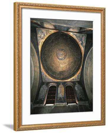 Italy, Milan Basilica of Sant'Ambrogio, San Vittore in Ciel D'Oro, Oratory, Mosaic Decorated Vault--Framed Giclee Print