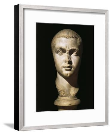 Colossal Head of Gordian III, 224-244 AD--Framed Giclee Print