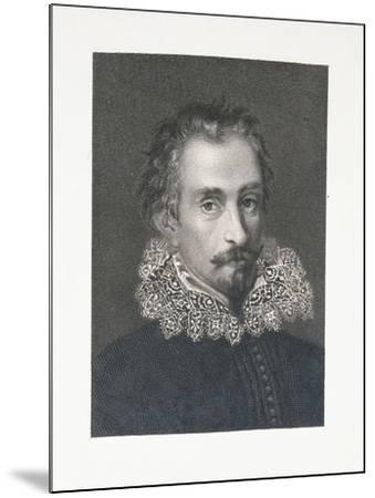Portrait of Italian Writer Alessandro Tassoni--Mounted Giclee Print