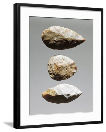 Czech Republic, Brno, Etnograficke Muzeum Moravskeho Muzea V Brne, Worked Flint Splinters--Framed Giclee Print