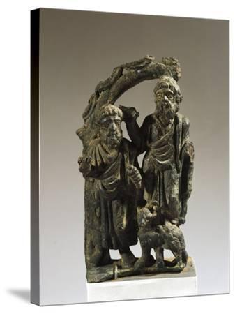 Italy, Veneto, Verona, Votive Statuette from the Necropolis, Bronze--Stretched Canvas Print