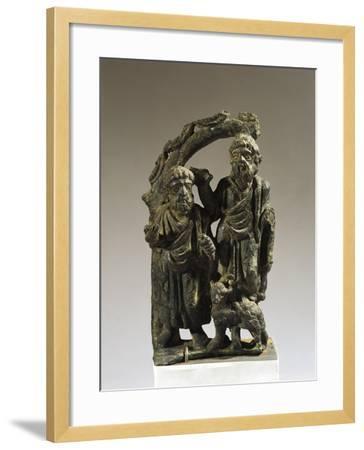 Italy, Veneto, Verona, Votive Statuette from the Necropolis, Bronze--Framed Giclee Print